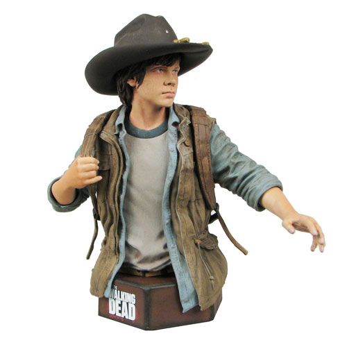 The Walking Dead Carl Grimes Mini-Bust