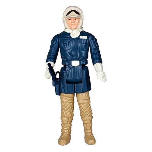 Star Wars Han Solo Hoth Jumbo Kenner Figure