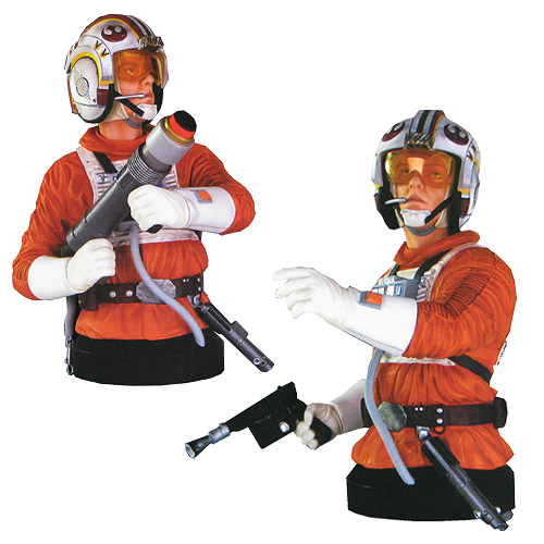 Star Wars Luke Skywalker Snowspeeder Deluxe Mini-Bust