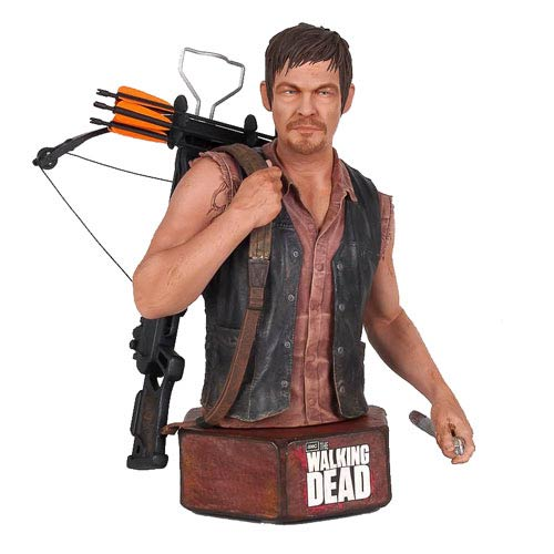 The Walking Dead Daryl Dixon Mini-Bust