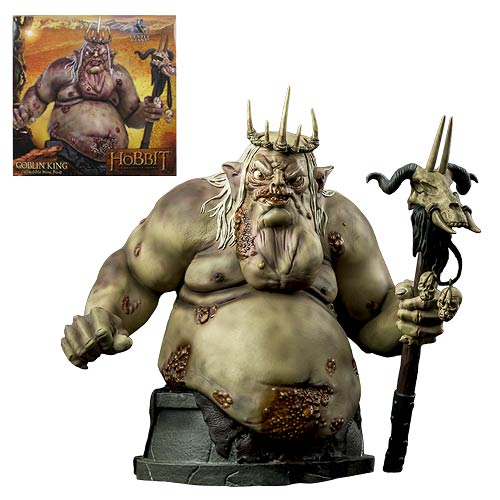 The Hobbit Goblin King Mini-Bust