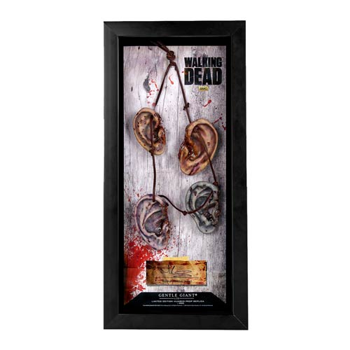 Walking Dead TV Series Daryl Dixon Ear Necklace Prop Replica