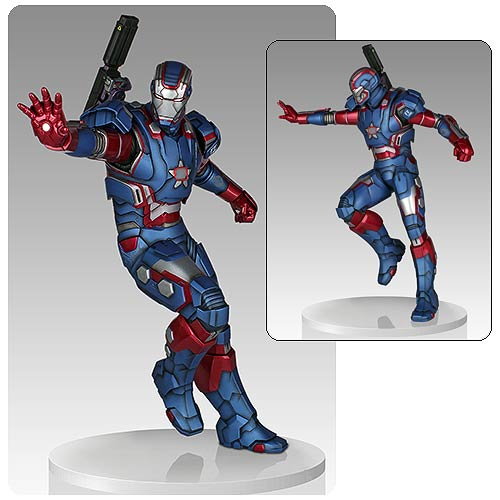 Iron Man Iron Patriot 1:4 Scale Light-Up Statue