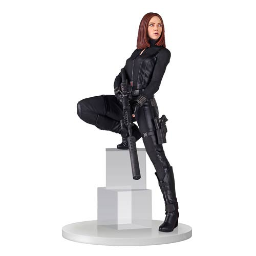 Captain America Winter Soldier Black Widow 18-Inch Statue