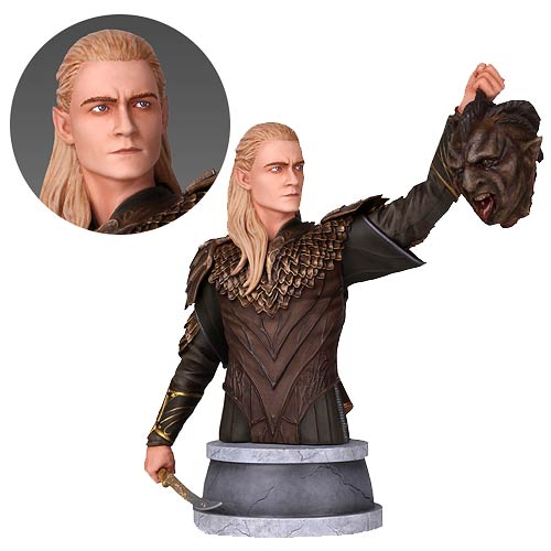 The Hobbit The Desolation of Smaug Legolas Mini Bust