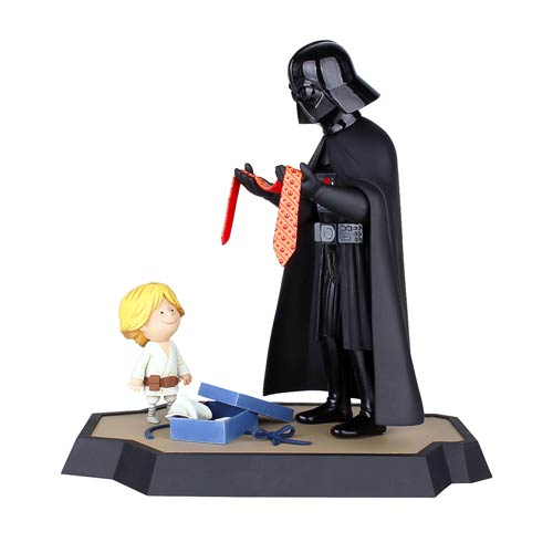 Star Wars Darth Vader and Son Maquette and Book Bundle