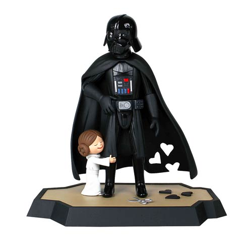 Star Wars Vader's Little Princess Maquette and Book Bundle