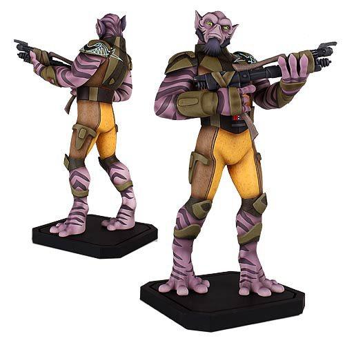 star wars rebels zeb 18 scale maquette statue gentle
