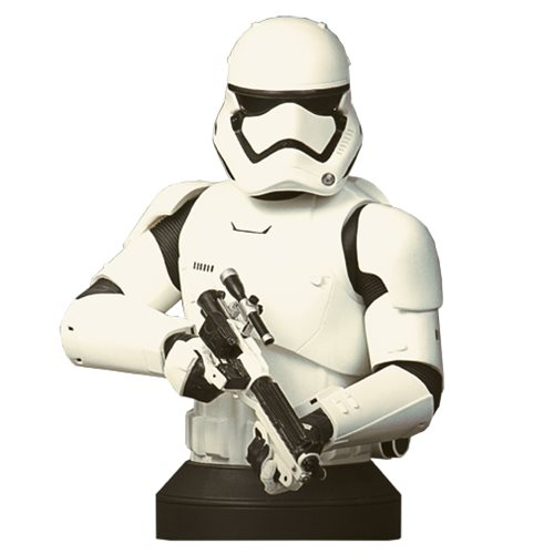 Star Wars: The Force Awakens First Order Stormtrooper Bust