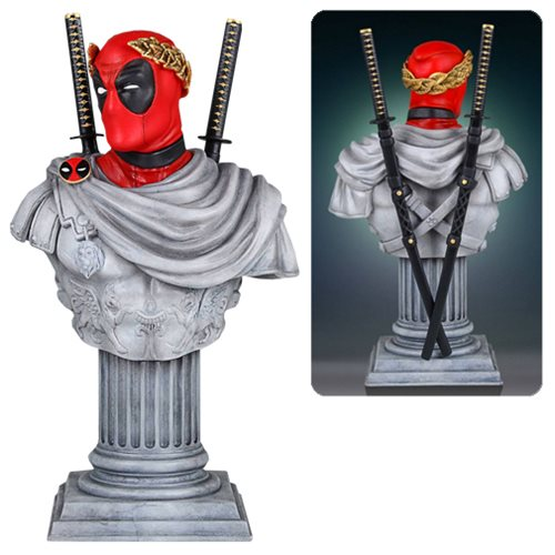 Deadpool Is Classic and Classy as Caesar Bust