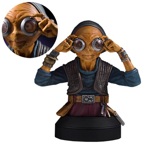 Star Wars Maz Kanata Mini Bust