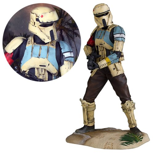 Star Wars Rogue One Scarif Shoretrooper Gallery Statue