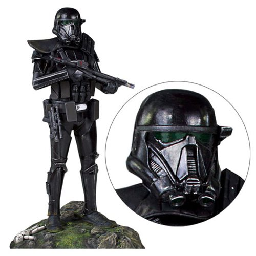 Картинки по запросу Star Wars Statues - 1:8 Scale Death Trooper Specialist Collector's Gallery Statue