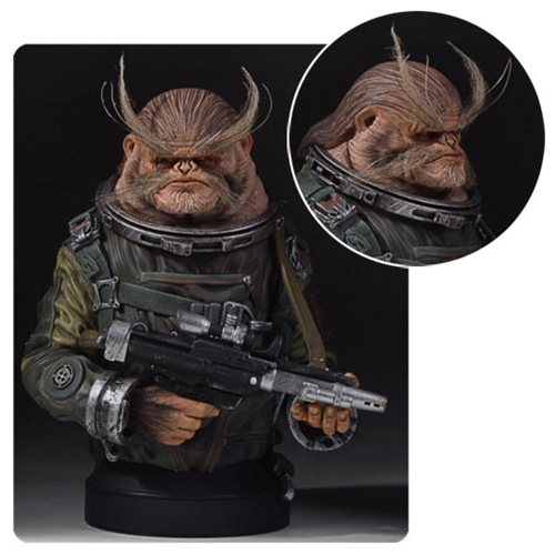 Star Wars Rogue One Bistan Mini-Bust