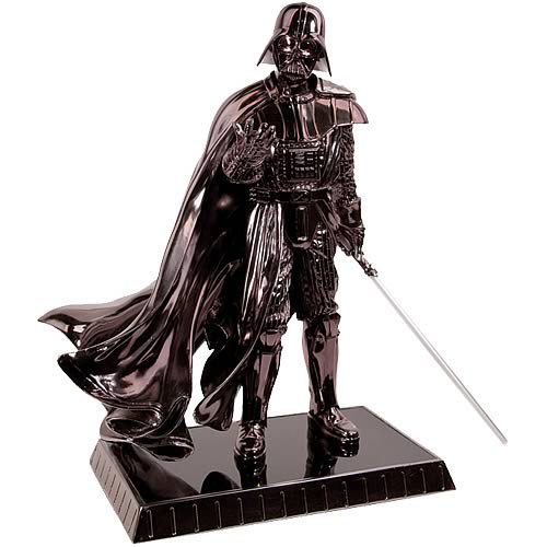 Star Wars Chrome Darth Vader Statue