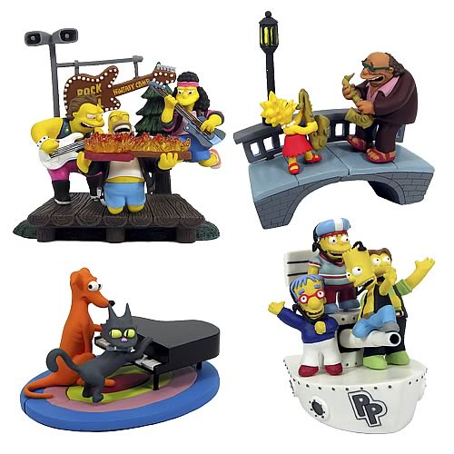 The Simpsons Bust-Ups Series 3 Case