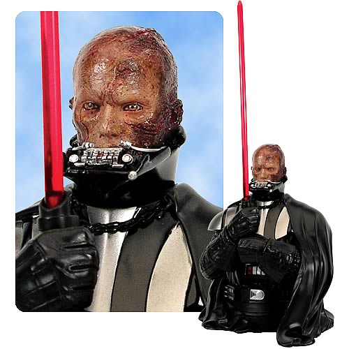 EE Exclusive Star Wars Darth Vader Anakin Reveal Mini Bust