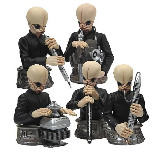 Star Wars Cantina Band Bust-Ups Box Set
