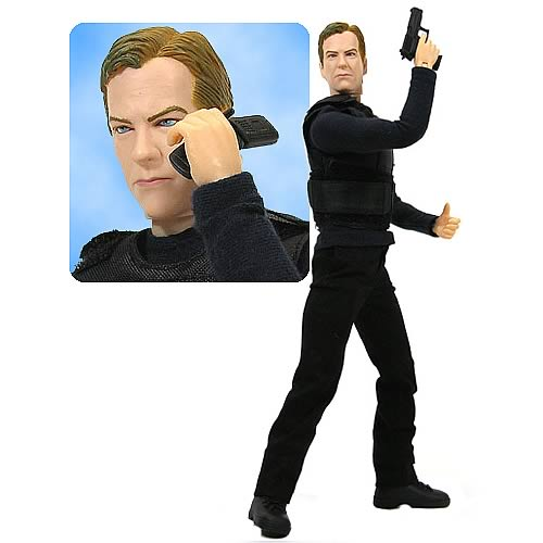 24 Real Action Hero Jack Bauer 12-Inch Figure