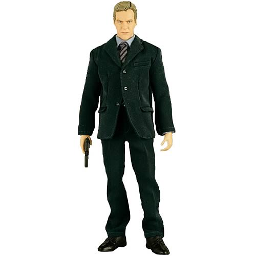 24 Real Action Hero Jack Bauer in Black Suit 12-Inch Figure