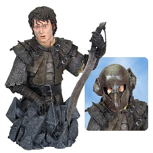 Lord of the Rings Frodo in Orc Armor Mini-Bust, Not Mint