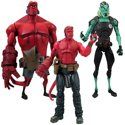 Hellboy Animated Action Figures Wave 1 Set