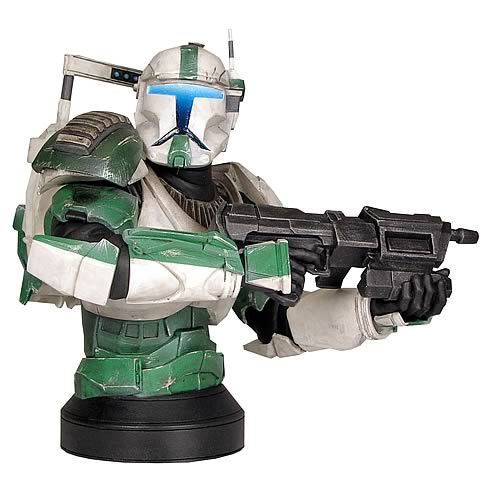 Star Wars Republic Commando Fixer Mini Bust