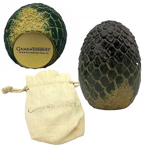 Game of Thrones Rhaegal Dragon Egg Prop Replica Paperweight