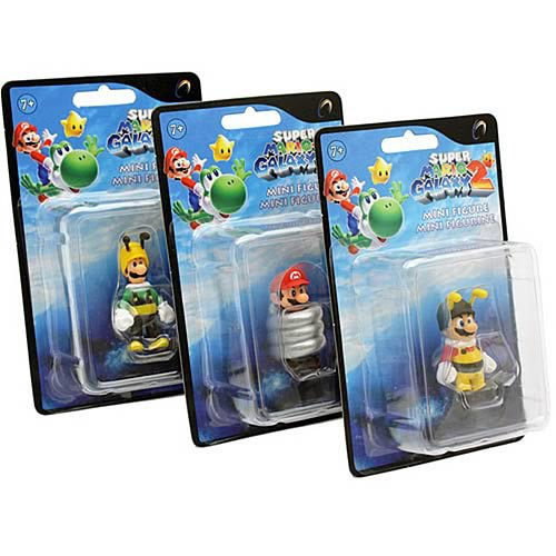 Super Mario Galaxy 2 Wave 1 Mini-Figure Set