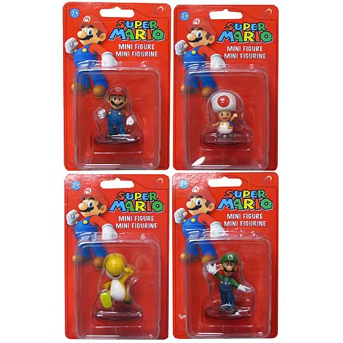 Super Mario Bros. Mini Figures Wave 1 Case