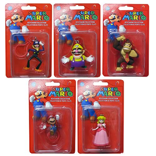 Super Mario Bros. Key Chains Wave 2 Case