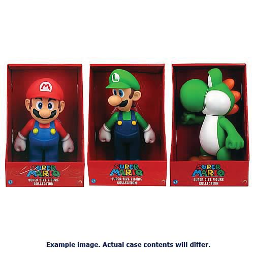 Super Mario 9-Inch Action Figures Wave 1 Case