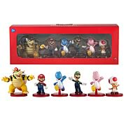 Nintendo Super Mario Bros. 2-Inch Figure 6-Pack Wave 2