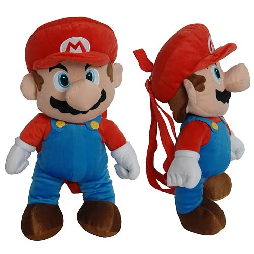Nintendo Super Mario Bros. Mario Plush Backpack