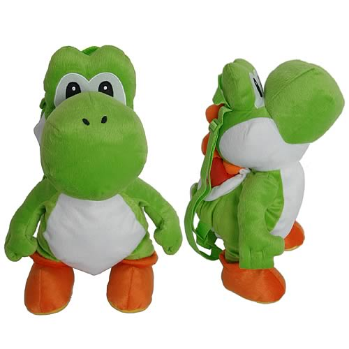 Nintendo Super Mario Bros. Yoshi Plush Backpack