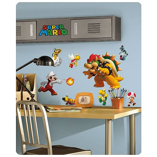 Super Mario Bros. Wall Applique