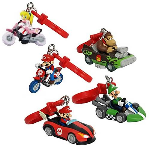 Mario Kart Key Chains Wave 1 Case