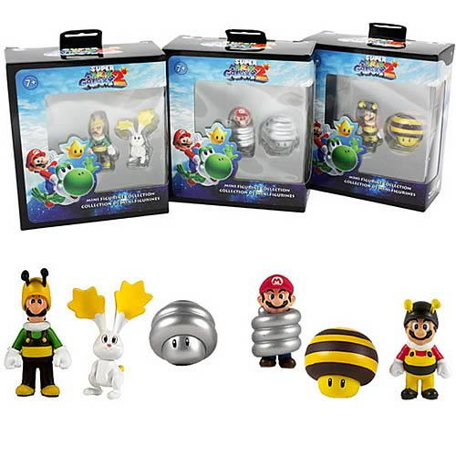 Super Mario Galaxy 2 Wave 1 Mini-Figure 2-Pack Case