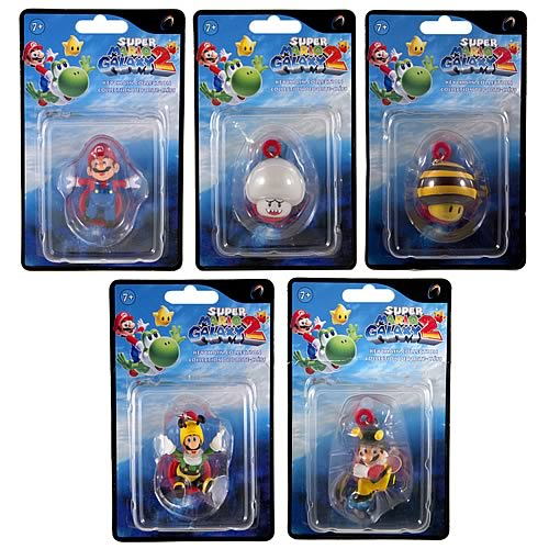 Super Mario Galaxy 2 Wave 1 Key Chain Case