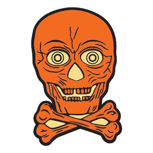 Beistle Lantern Skull Enamel Pin