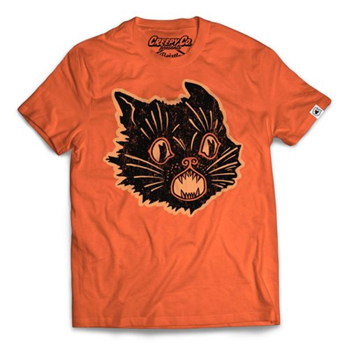 Beistle Scratch Cat Orange T-Shirt