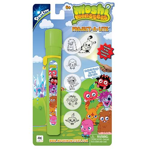 Moshi Monsters Project-A-Lite Flashlight