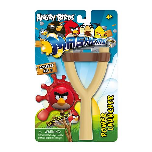 Angry Birds Mash'ems Power Launcher Playset