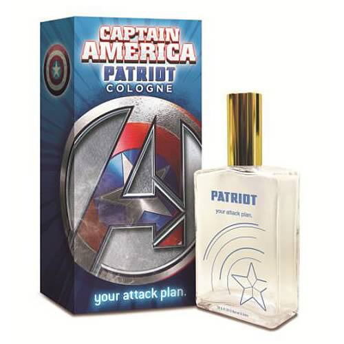Avengers Captain America Patriot Attack 100 mL Cologne