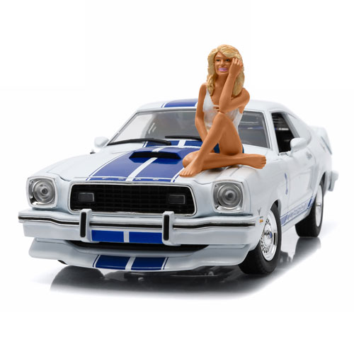Charlie's Angels 1976 Mustang Cobra II Vehicle with Figure
