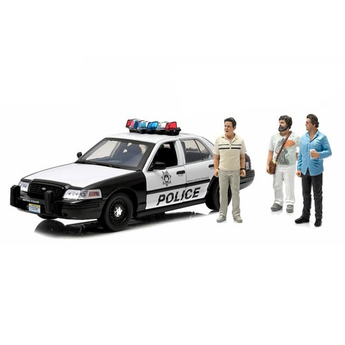 Hangover Ford Crown Victoria Police Interceptor with Figures