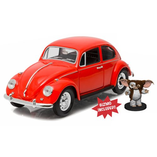 Gremlins VW Beetle with Gizmo 1:24 Scale Die-Cast Vehicle