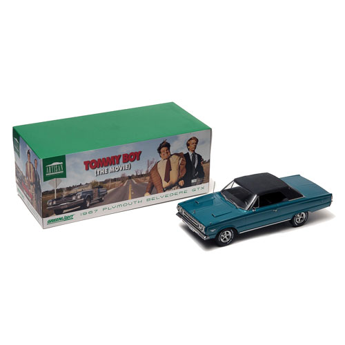 Tommy Boy 1967 Plymouth Belvedere GTX 1:18 Die-Cast Vehicle