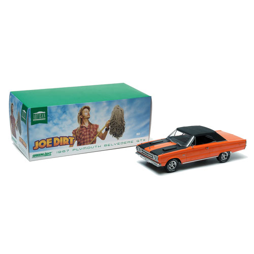 Joe Dirt 1967 Plymouth Belvedere GTX 1:18 Die-Cast Vehicle
