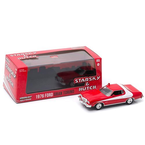 Starsky and Hutch (TV Series) 1976 Ford Gran Torino 1:24 Scale Die-Cast Metal Vehicle